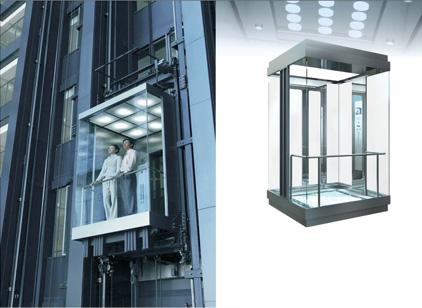 Kết quả hình ảnh cho thang máy lồng kính
