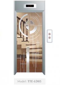 Cửa tầng thang máy Phong thuỷ Lựa chọn TTE-LD05