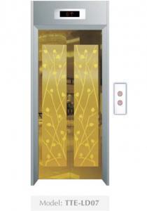 Cửa tầng thang máy Phong thuỷ Lựa chọn TTE-LD07