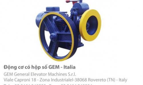 Động cơ GEM có hộp số sản xuất tại Italia ý